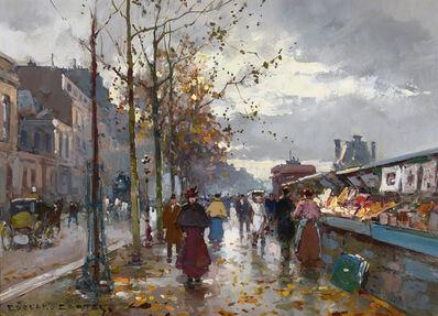 Edouard Léon Cortès, 'Bouquinistes (Parisian Booksellers)', 1919-2020