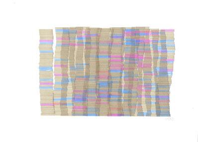 Vera Molnar, 'Hommage à Monet (étude)', 1983