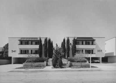 Bevan Davies, 'Apartment Houses near Hollywood, CA', 1976