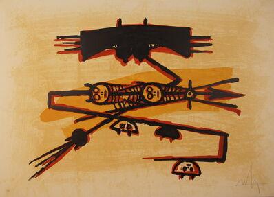 Wifredo Lam, 'Untitled -El Ultimo Viaje del Buque- Fantasma series', 1976
