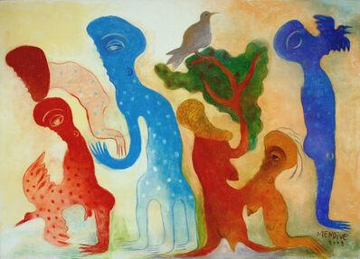 Manuel Mendive, 'El ave azul', 2008