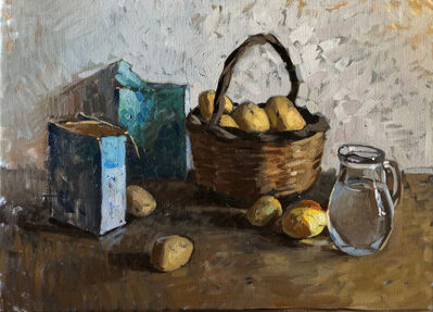 Amy Florence, 'Salt and Potatoes', 2020