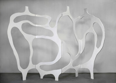Jacques Jarrige, 'Meander Screen in White Lacquer', 2012