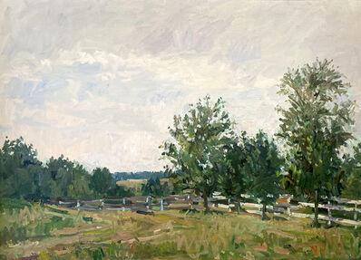 Eugene Leake, 'After the August Rain - Upper Pasture', 1974