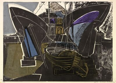 Michael Rothenstein, 'Boats at Burnham on Crouch (Essex Coast)', 1956
