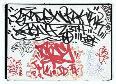 KAWS, 'PAGE FROM AN AMERICAN ARTIST'S BLACKBOOK', CIRCA 1993 – 1994