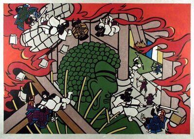 Hiromitsu Takahashi, 'Great Buddha in Flames', 2009