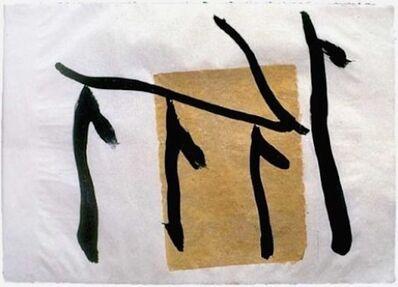 Robert Motherwell, 'Rite of Passage III', 1980