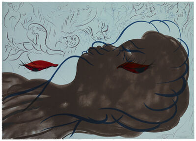 Chris Ofili, 'The Break from Paradise by Night', 2010