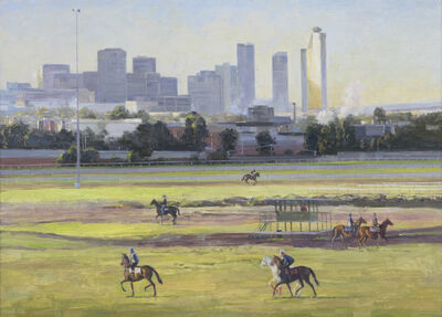 Shane Jones, 'Trackwork at Flemington #4', 2014