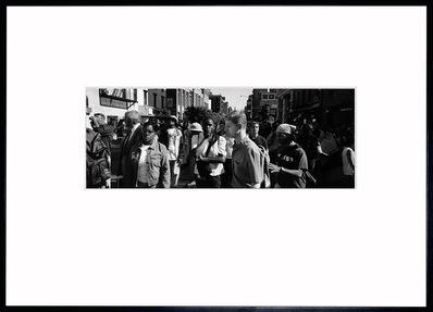 Adam Wiseman, '9/11 Crowd', 2001