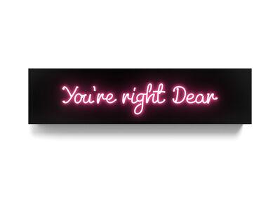 David Drebin, 'You're right dear', 2017