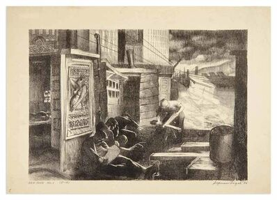 Seymour Fogel, 'NEW YORK NO. 1', 1936