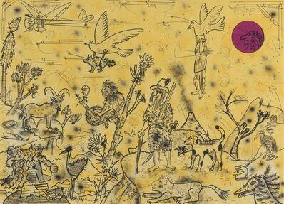 Roy De Forest, 'The Story of Flight I', 1995