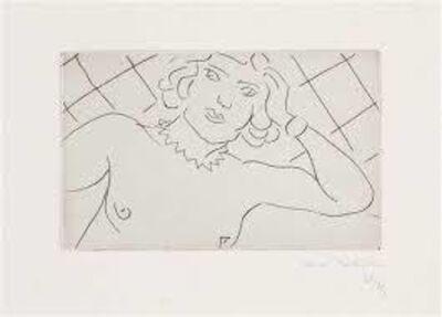 Henri Matisse, 'TORSE, FOND A LOSANGES', 1929
