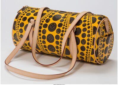 Yayoi Kusama, 'Louis Vuitton Limited Edition Yellow Dot Monogram Canvas Infinity Dots Papillon Bag', 2012