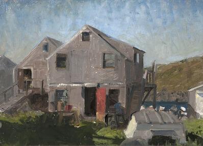 Alexandra Tyng, 'Fish Houses with Open Red Door', 2016