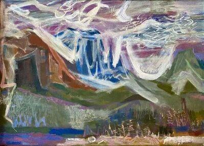 Vincent Campanella, 'GLACIER PARK 1940s WPA Mid-Century Realism to Abstraction American Modernism', ca. 1949