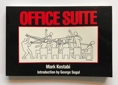 Mark Kostabi, 'Office Suite', 1986