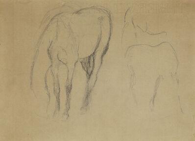 Edgar Degas, 'Étude de cheval'
