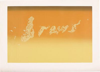 Ed Ruscha, 'Brews', 1970