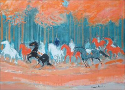 Andre Brasilier, 'Forêt d'automne ', 2014