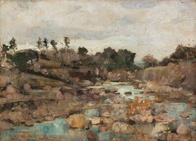 Théo van Rysselberghe, 'La rivière des Juifs', 1883