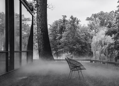 Richard Barnes, 'Bertoia, Glass House', 2014