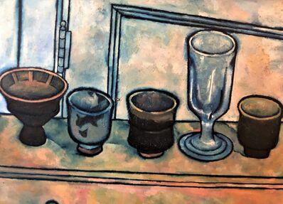 Daniel Brennan, 'Homage to Mirandi, Hamada Cups', 1960