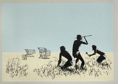 Banksy, 'Trolley Hunters (Colour) ', 2007