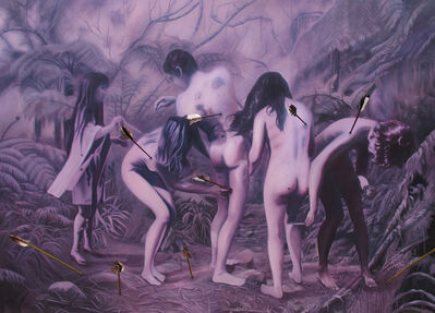 Wire Tuazon, 'The Orgy of Self-Obliterization (nudity on the Asian Other or Orientalized Eroticization): After Yayoi Kusama', 2014