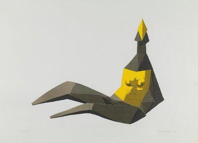 Lynn Chadwick, 'Seated Elektra', 1969