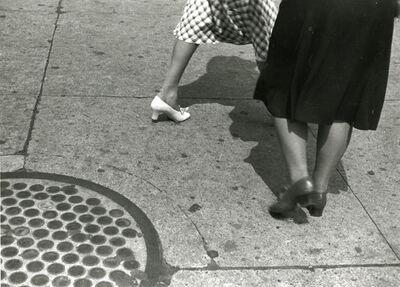 Rudy Burckhardt, 'Sidewalk III'