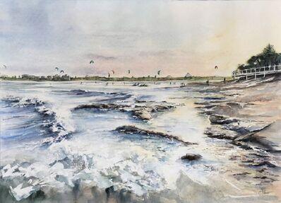 Cynthia Stewart, 'Afternoon Kites@Bullcock Beach', 2019