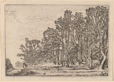 Willem Buytewech, 'Two Plank Hedges', 1621
