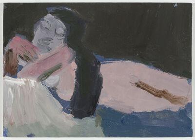Janice Nowinski, 'Nude with Long Black Hair', 2019