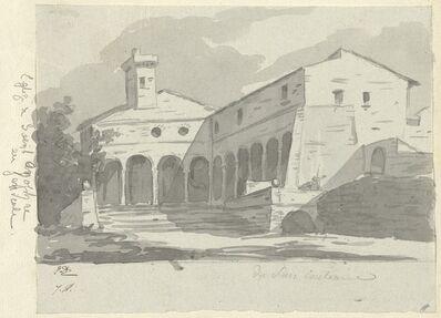 Jacques-Louis David, 'Church of Sant' Onofrio, Rome', 1775/80