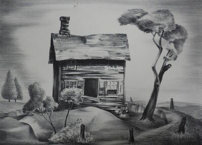 "Charles Alston, '""Deserted House""', ca. 1938"