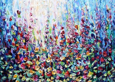 Richard Ponder, 'Expressions of Flowers', 2020