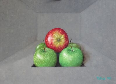 tobias harrison, 'Room for apples', 2019