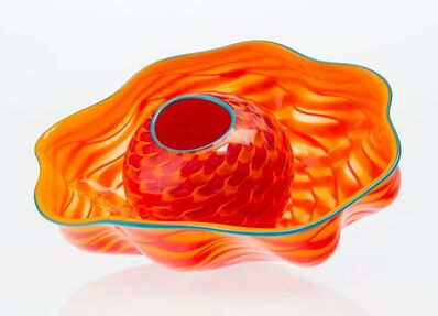 Dale Chihuly, 'Tiger Lily Seaform Pair', 2002