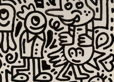 Mr. Doodle, 'Untitled'
