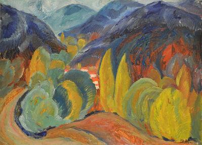Vladimir Klimentevich Zhuk, 'Kaztcha River', 1978