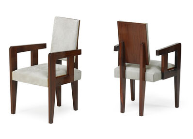 André Sornay, 'Pair of armchairs', 1930s