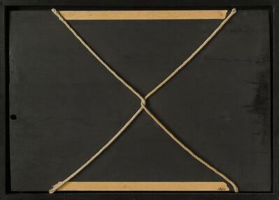 Antoni Tàpies, 'Cordes croisées sur bois', 1960