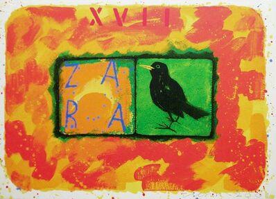Joe Tilson, 'Conjunction Blackbird, Zara', 2001