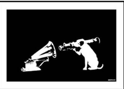 Banksy, 'HMV (Signed)', 2003