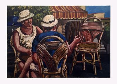 Natalya Nesterova, 'Les Chaises', 1997