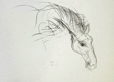 """Alfred R Kelman, '""""Edward"""" Irish race Horse 1994', N/A"""