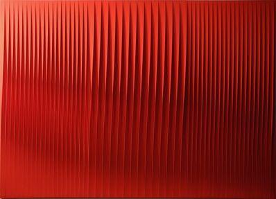Pino Manos, 'Sincronicità armonica profondo rosso', 2017